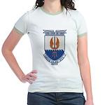 USS COOK Jr. Ringer T-Shirt