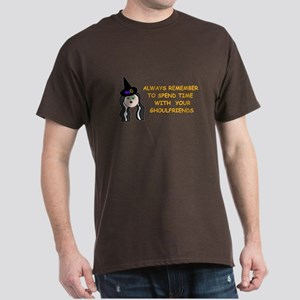 SPEND TIME WITH GHOULFRIENDS Dark T-Shirt