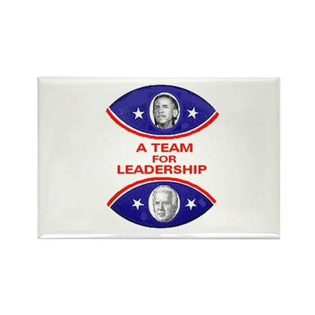 Obama Biden Leadership Rectangle Magnet (10 pack)