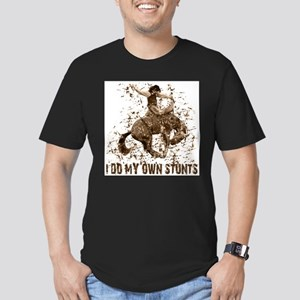 Bronco Rodeo Cowboy, Stunts Ash Grey T-Shirt