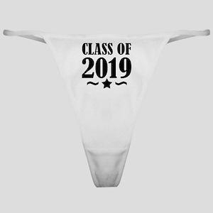 Class of 2019 - Graduation Star Classic Thong