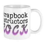 Scrapbook Instructors ROCK Mug