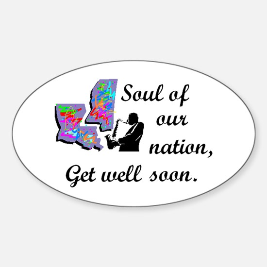 Soul of our Nation, Oval Decal