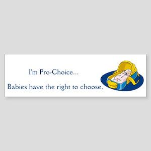 Pro-Life Moms Bumper Sticker