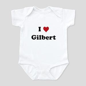 I love Gilbert Infant Bodysuit