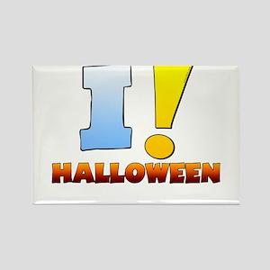I ! Halloween Rectangle Magnet