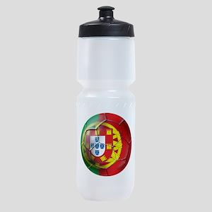 Portuguese Football Soccer Sports Bottle