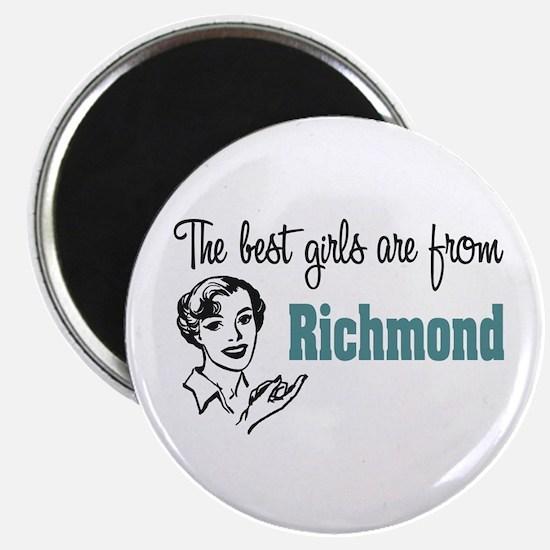 Best Girls Richmond Magnet