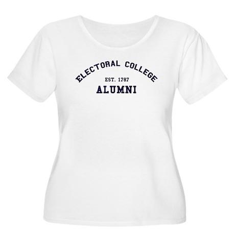 """Electoral College"" Alumni Women's Plus Size Scoop"