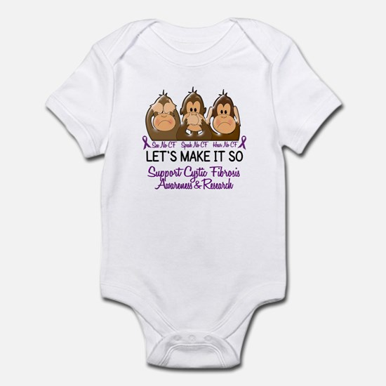 See Speak Hear No Cystic Fibrosis Infant Bodysuit