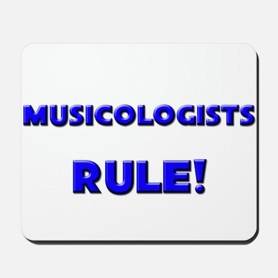 Musicologists Rule! Mousepad