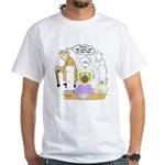 Modern Mason and the Old Master White T-Shirt