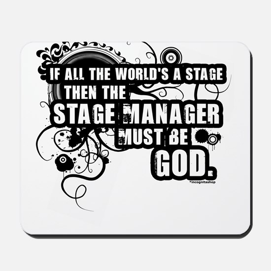 Stage Manager Mousepad