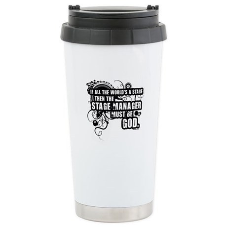 Stage Manager Stainless Steel Travel Mug