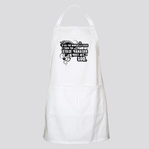 Stage Manager BBQ Apron