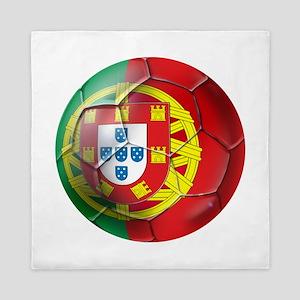 Portuguese Football Soccer Queen Duvet