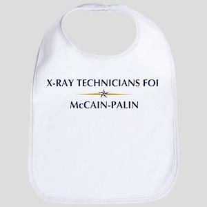 X-RAY TECHNICIANS for McCain- Bib