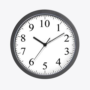 Metric Clock (With Dashes)