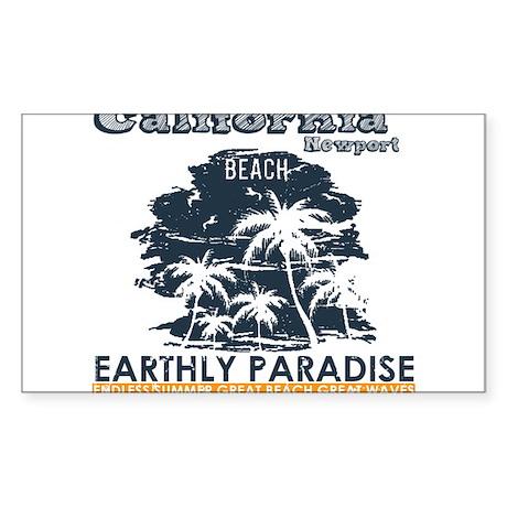California - Newport Beach Sticker