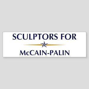 SCULPTORS for McCain-Palin Bumper Sticker