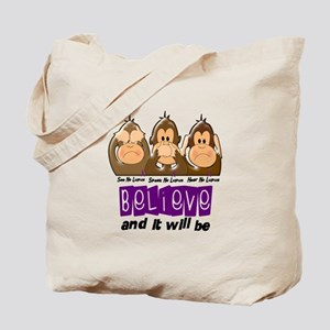 See Speak Hear No Lupus 3 Tote Bag