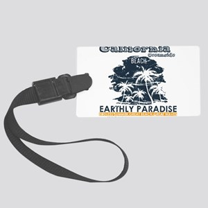 California - Oceanside Large Luggage Tag
