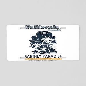 California - Oceanside Aluminum License Plate