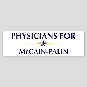 PHYSICIANS for McCain-Palin Bumper Sticker