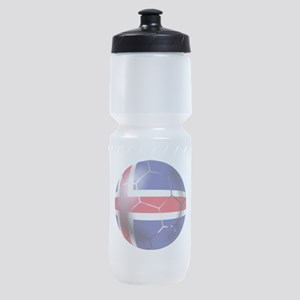 Iceland Soccer Ball Sports Bottle