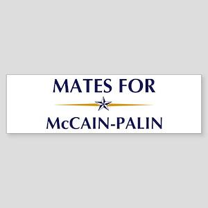 MATES for McCain-Palin Bumper Sticker