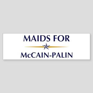 MAIDS for McCain-Palin Bumper Sticker