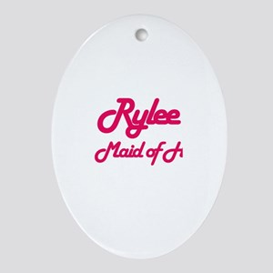 Rylee - Maid of Honor Oval Ornament