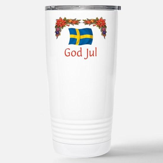 Sweden God Jul 2 Stainless Steel Travel Mug