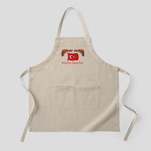 Turkey Mutlu Noeller BBQ Apron