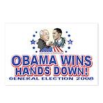 Obama Arm Wrestles McSame Postcards (Package of 8)