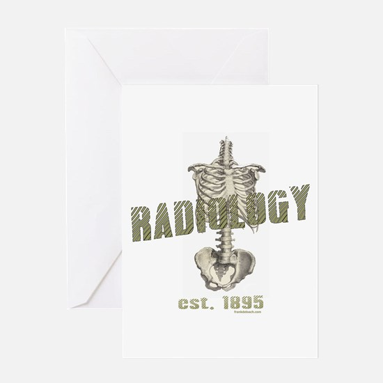 RADIOLOGY Greeting Card