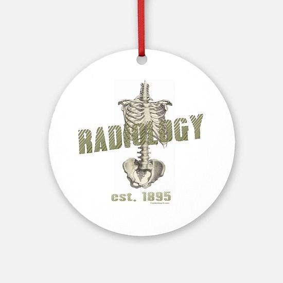 RADIOLOGY Ornament (Round)