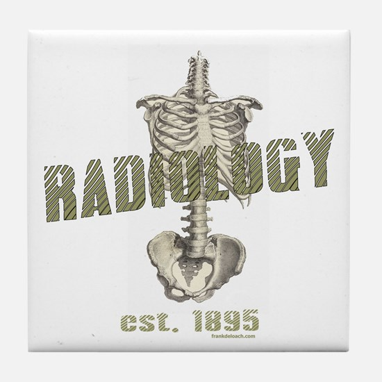 RADIOLOGY Tile Coaster