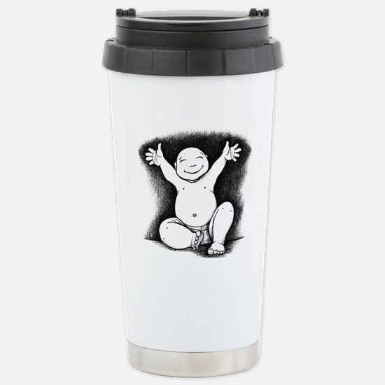 Buddha Baby Stainless Steel Travel Mug