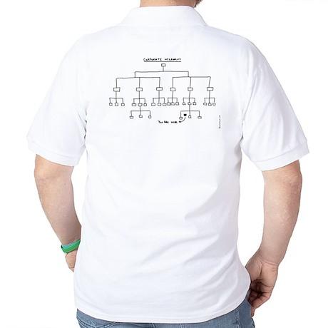 Corp. Hierarchy Golf Shirt