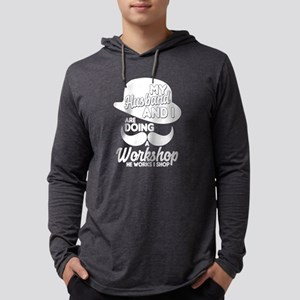 My Husband And I Are Doing A W Long Sleeve T-Shirt