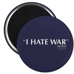 I Hate War Magnet