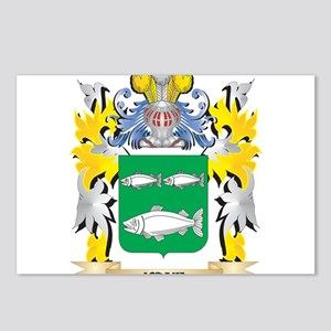 Kane Coat of Arms - Famil Postcards (Package of 8)