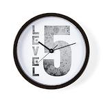 Level 5 Wall Clock