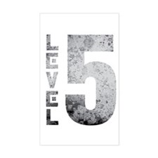 Level 5 Sticker (Rectangle)