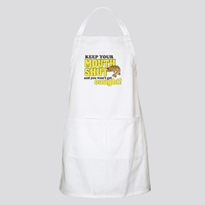 Keep Your Mouth Shut (Fishing) Apron