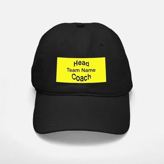 Head Coach Baseball Hat