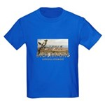 ABH Castle Mountains Kids Dark T-Shirt