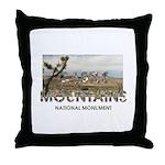ABH Castle Mountains Throw Pillow