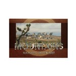 ABH Castle Mountains Rectangle Magnet (10 pack)